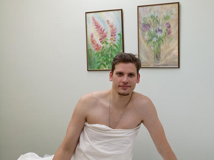 После процедуры по методу Dr. Hauschka