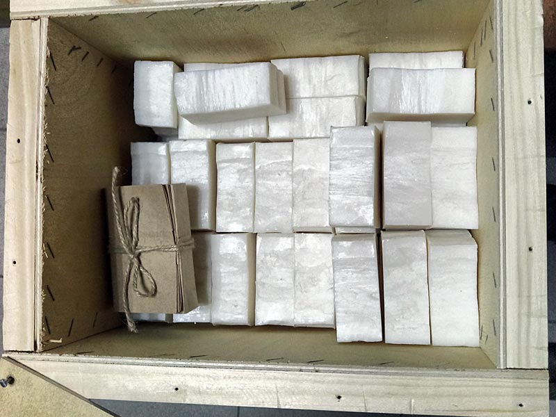 упаковка хозяйственного мыла Ecovivo Home